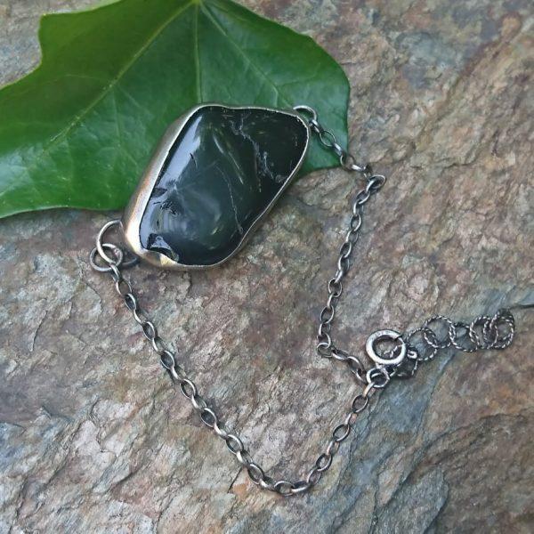 bransoletka z czarnym turmalinem