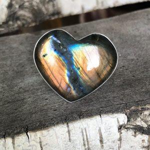 Pierścionek wielkie serce