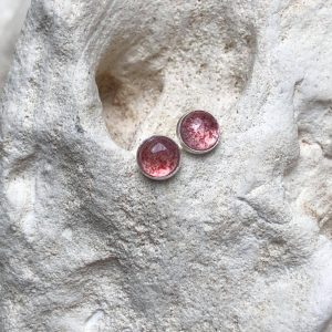 kwarc truskawkowy sztyfty